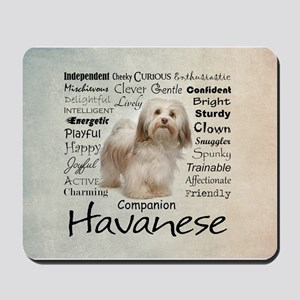 Havanese Traits Mousepad