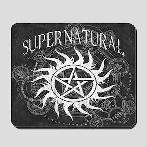 Supernatural Black Mousepad