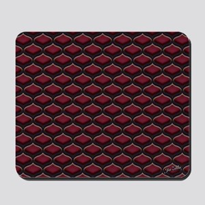 Ogee Berries Mousepad