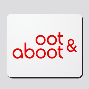 Oot & Aboot (red) Mousepad