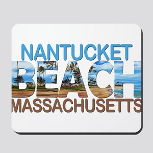 Summer nantucket- massachusetts Mousepad