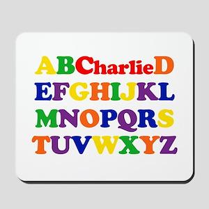 Charlie - Alphabet Mousepad
