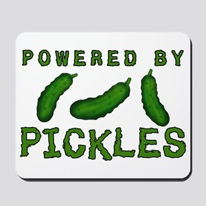 Powered By Pickles Mousepad