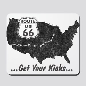 Retro Route66 Mousepad