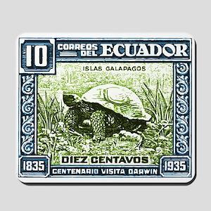 1936 Ecuador Galapagos Tortoise Postage Stamp Mous