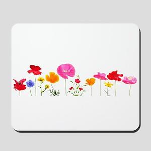 wild meadow flowers Mousepad