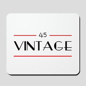 45th Birthday Vintage Mousepad
