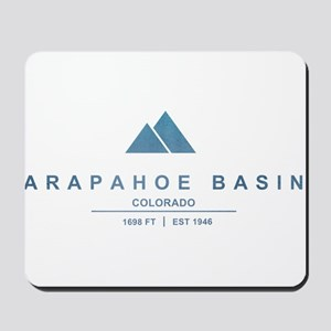 Arapahoe Basin Ski Resort Colorado Mousepad