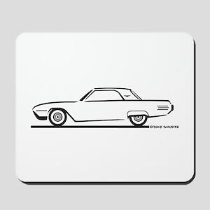 1961 Ford Thunderbird Hardtop Mousepad