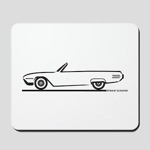 1961 Ford Thunderbird Convertible Mousepad