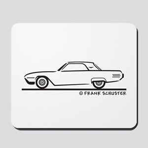 1961 Ford Thunderbird Hard Top Mousepad