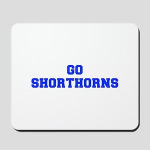 Shorthorns-Fre blue Mousepad