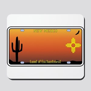 New Mexico License Plate Mousepad