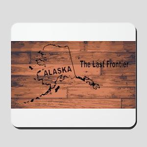 Alaska Map Brand Mousepad