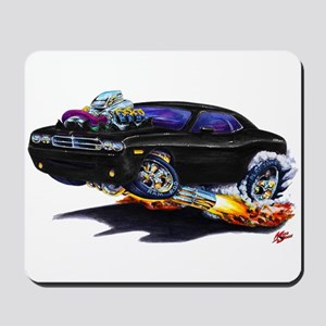 Challenger Black Car Mousepad