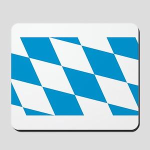 Flag of Bavaria Mousepad