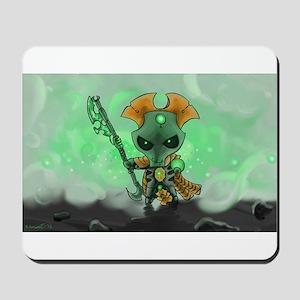 Robot Overlord Mousepad