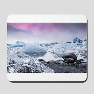 Glaciers of Iceland Mousepad