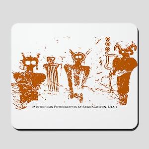 Sego Canyon Glyphs Mousepad