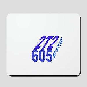 2tt2/605 cube Mousepad