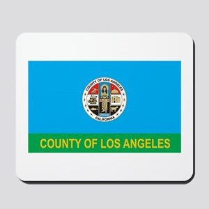 LOS-ANGELES-COUNTY Mousepad