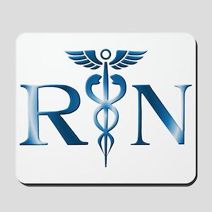 RN Nurse Caduceus Mousepad