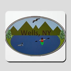 Wells, NY Mousepad