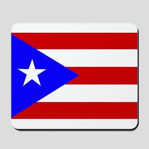 Puerto Rican Flag Mousepad