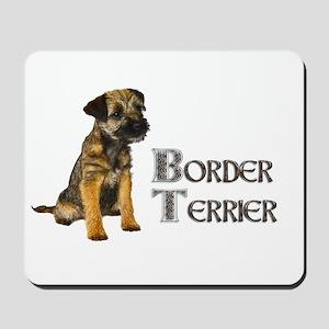 Border Terrier Mousepad