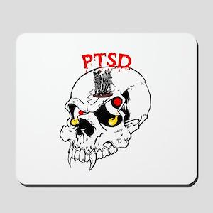 PTSD SKULL Mousepad