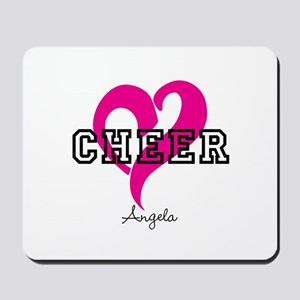 Love Cheer Heart Mousepad
