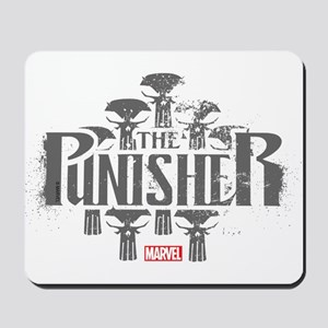 The Punisher Distressed Mousepad