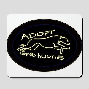 More Greyhound Logos Mousepad