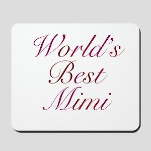 World's Best Mimi Mousepad