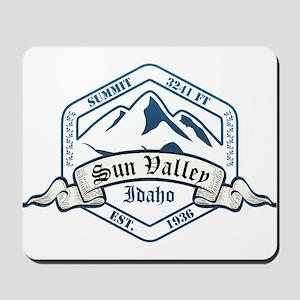 Sun Valley Ski Resort Idaho Mousepad