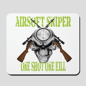 Airsoft Sniper Mousepad