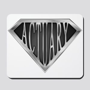 SuperActuary(metal) Mousepad