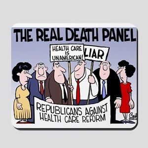 Real Death Panel Mousepad