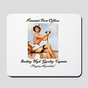 Potential First Officer Mousepad