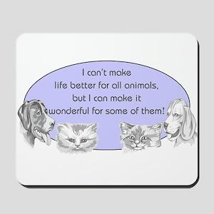 Better Pet Life Mousepad