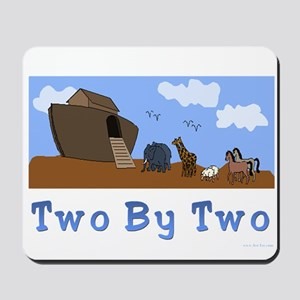 Noah's Ark Two By Two Mousepad