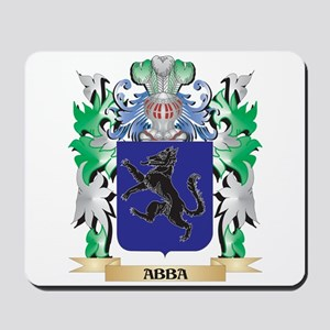 Abba Coat of Arms - Family Crest Mousepad