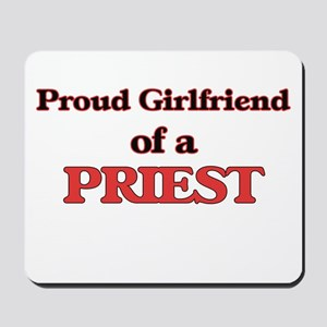 Proud Girlfriend of a Priest Mousepad