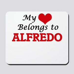 My heart belongs to Alfredo Mousepad