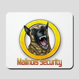 Belgian Malinois Security Mousepad