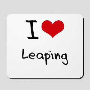I Love Leaping Mousepad