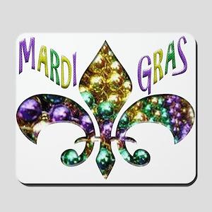 Mardi Gras Fleur Mousepad