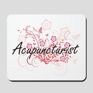Acupuncturist Artistic Job Design with F Mousepad