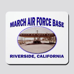 March Air Force Base Mousepad