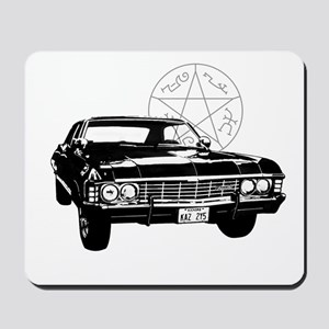 Impala with devils trap Mousepad
